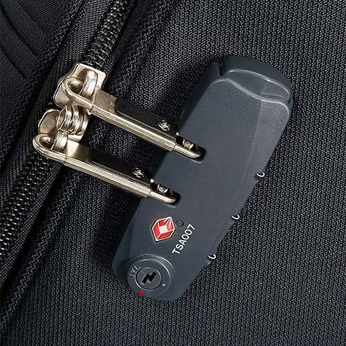 Koffer mit integriertem Kofferschloss