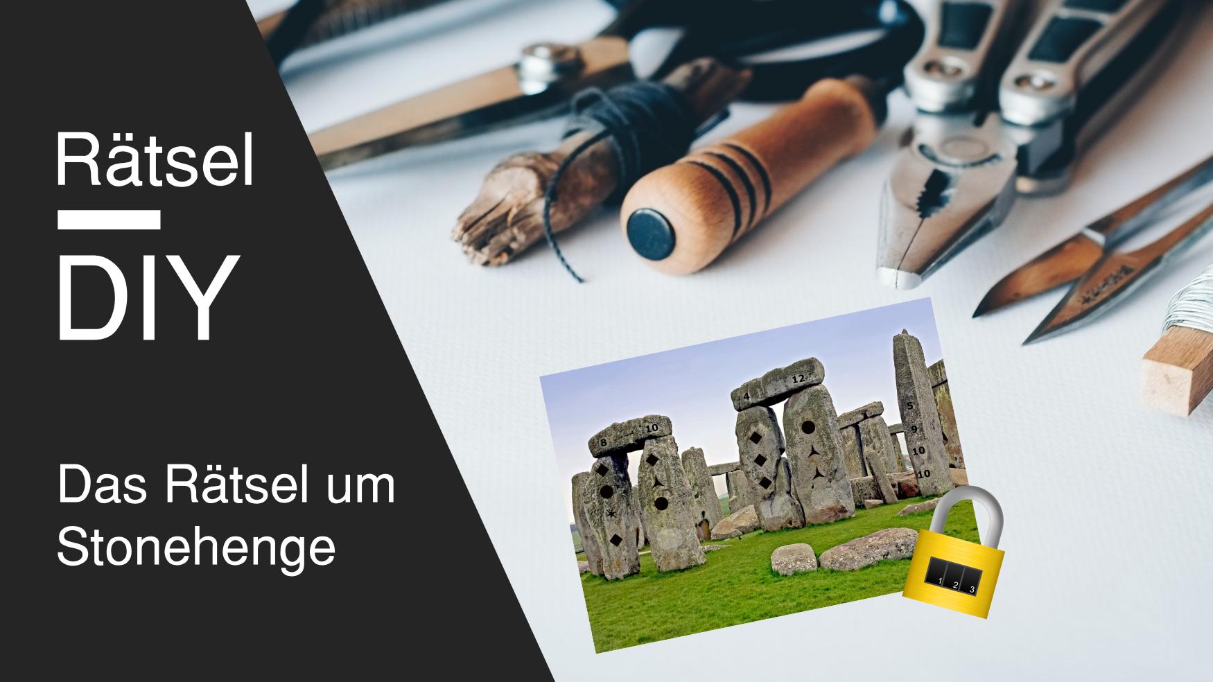 DIY Escape Room Rätsel Idee Stonehenge für Erwachsene