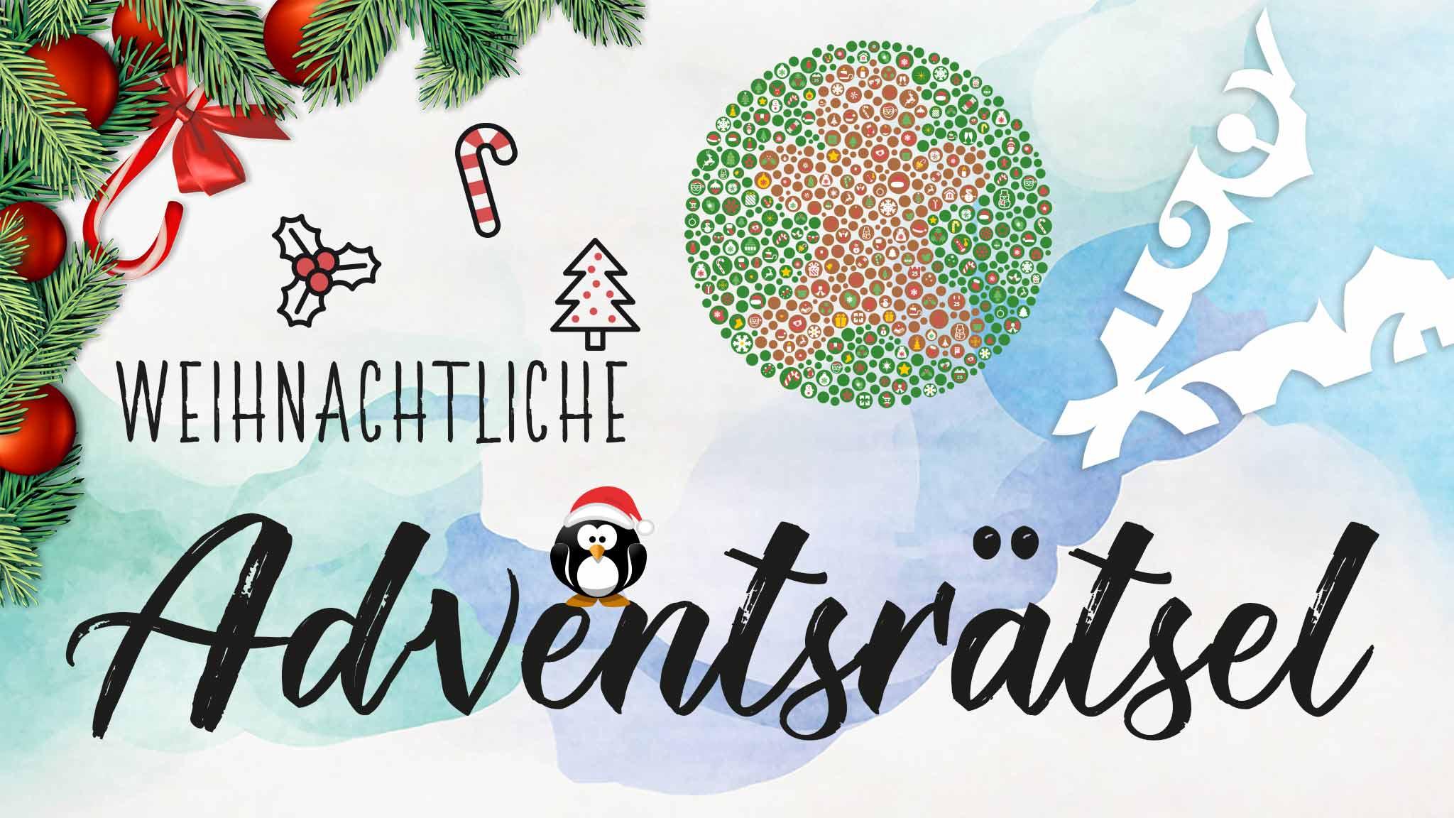 Weihnachtliche Adventsrätsel