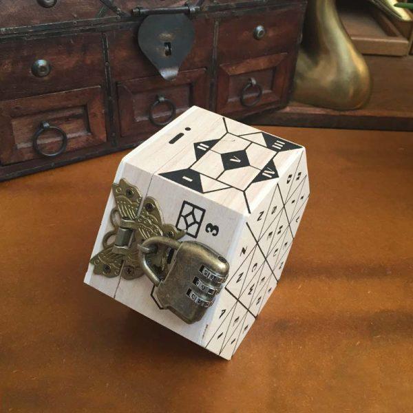 Das Hexagon Rätsel Untenansicht