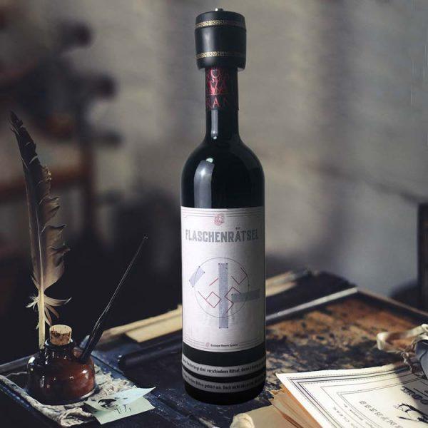 Flaschenrätsel Moodbild EscapeRoomSpiele