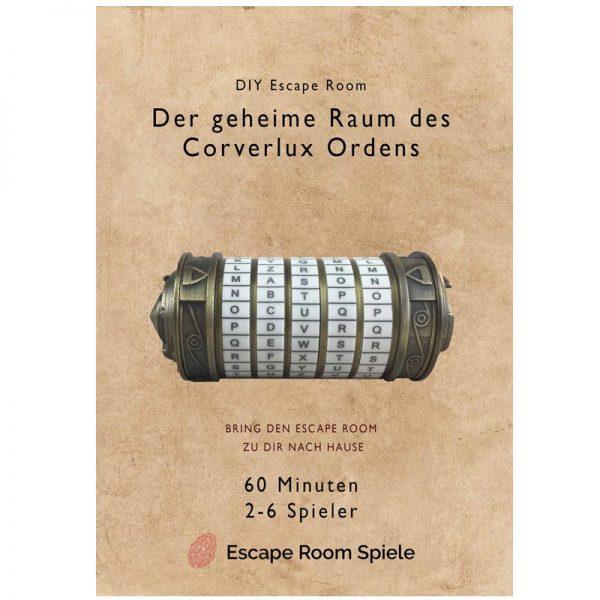 DIY Escape Room geheime-Raum-des Corverlux Ordens Titelbild