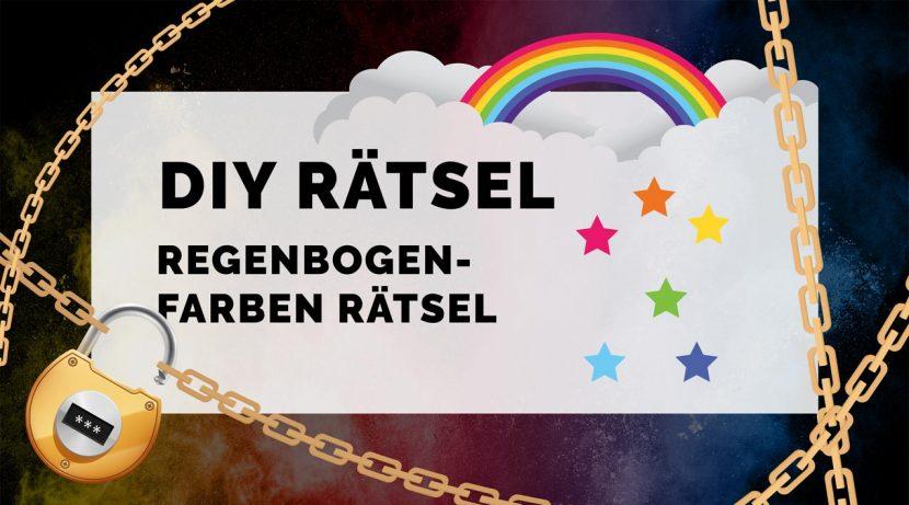 Monatsrätsel Das Regenbogen Rätsel