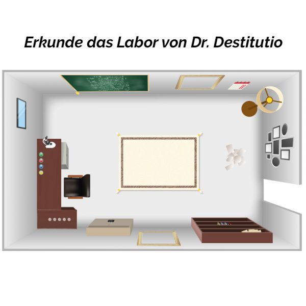 DIY Escape Room: Stoppt das Virus - Labor