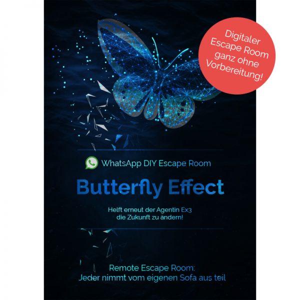 Whatsapp Escape Room - Butterfly Effect