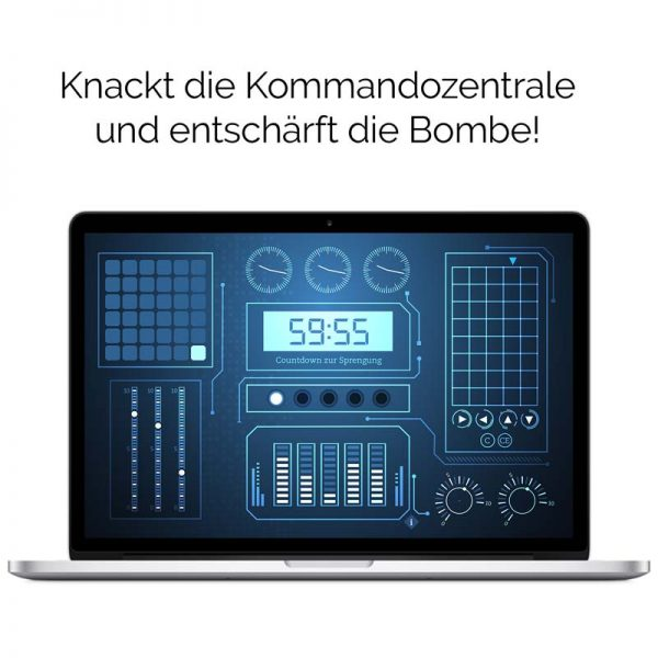 DIY Escape Room – Ultimate Code Break Kommandozentrale